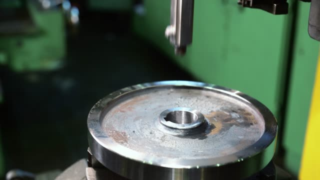 生産工場での作業工作機械ビデオ ビデオ