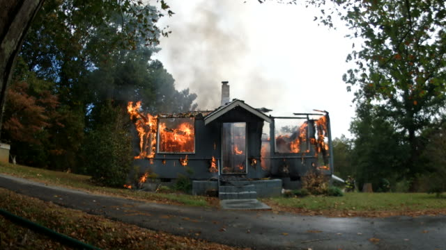 Working Structure fire video