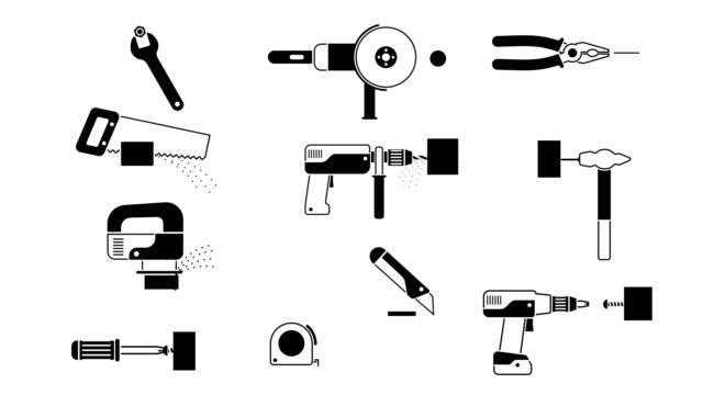 Working tools set