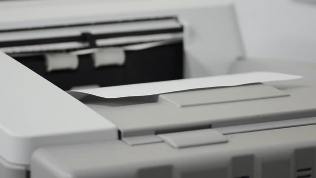 Working with Photocopier Machine video
