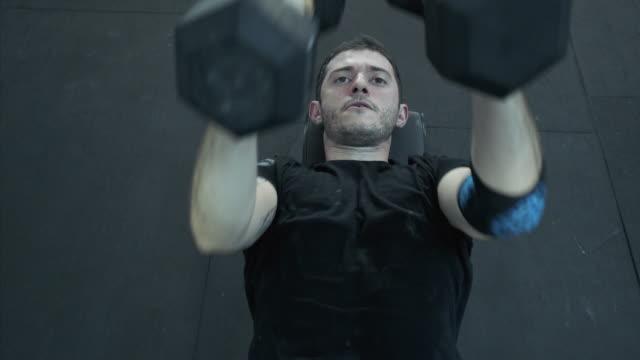 Workout break. video
