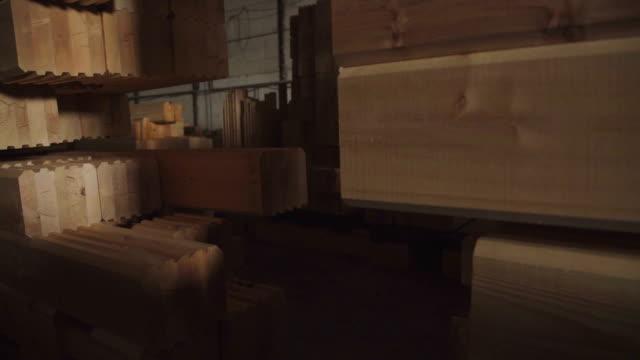 Workshop for production of laminated veneer lumber video