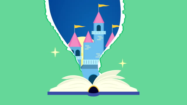 world book day celebration with fairytale castle video