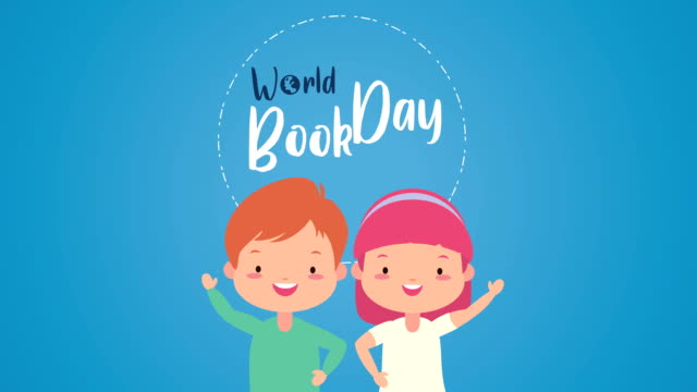 world book day celebration with little kids video