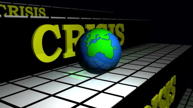 World broken due to crisis video