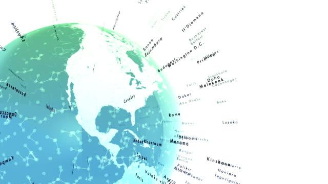vídeos de stock, filmes e b-roll de mundo capital cidades - país área geográfica