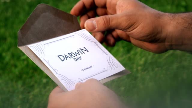 världen darwin day - calendar workout bildbanksvideor och videomaterial från bakom kulisserna