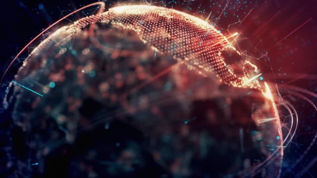 vidéos et rushes de sécurité mondiale numérique 4k - violation d'accès informatique