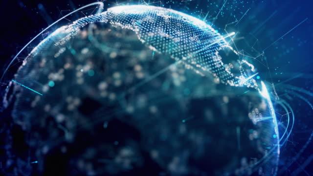 世界のデジタル セキュリティ 4 k - community activism点の映像素材/bロール
