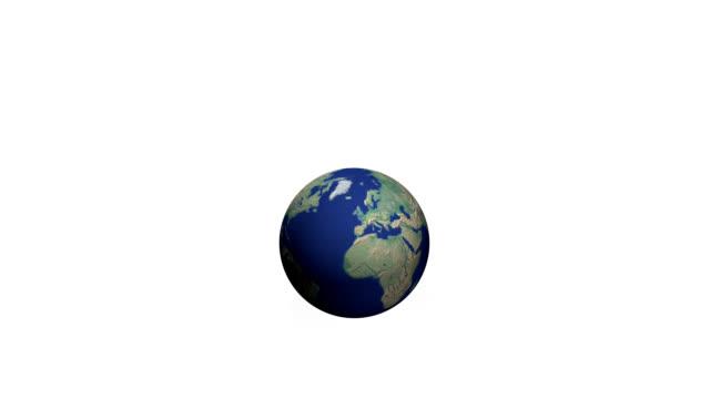 世界の爆発 - 球形点の映像素材/bロール