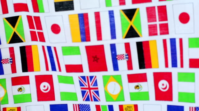 World flags video