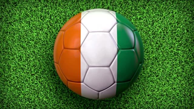 vídeos de stock, filmes e b-roll de world football/soccer - campeonato esportivo