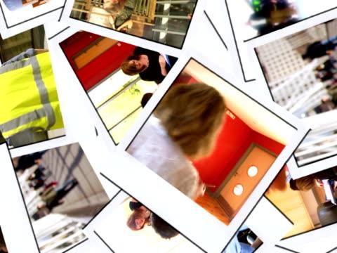 stockvideo's en b-roll-footage met world in action hd - polaroid