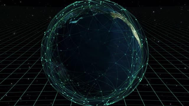 världen karta cyber koncept - hotelse bildbanksvideor och videomaterial från bakom kulisserna