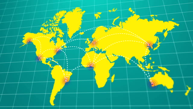 Top 80 World Map Stock Videos and Royalty-Free Footage - iStock