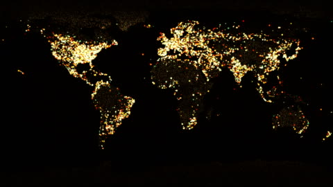 world map world map global communications stock videos & royalty-free footage
