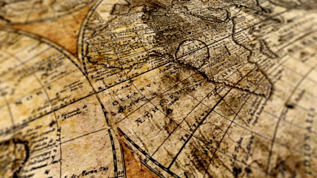 World Map World Map the past stock videos & royalty-free footage