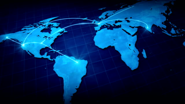 world network. - globalization stock videos and b-roll footage