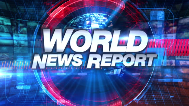 World News Report - Broadcast TV Animation Graphic Title World News Report graphic main title, videos and images in the background. See other versions in this series to complete your broadcast package. All indivisual videos are from the Eyeidea portfolio. announcement message stock videos & royalty-free footage