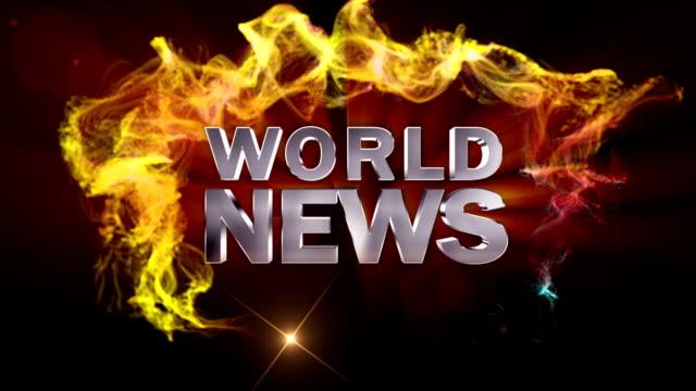 world news text in particles - paper mass bildbanksvideor och videomaterial från bakom kulisserna
