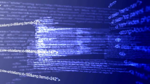 World of computer code Computer website code  website design stock videos & royalty-free footage