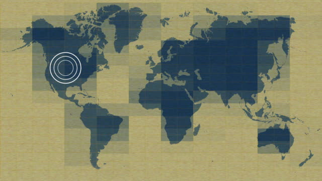 world signal,vintage motion video