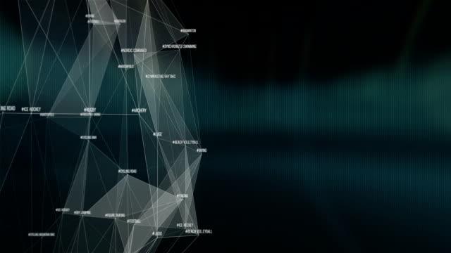ワールドスポーツキーワード接続 - スポーツ バドミントン点の映像素材/bロール