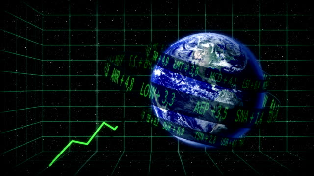World stock markets rising video