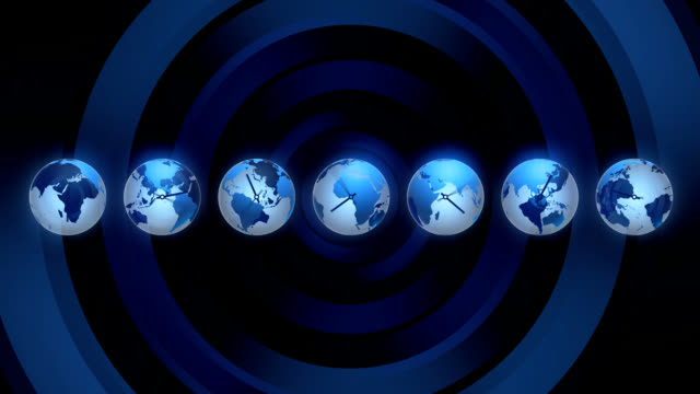 World time clock World time clock, HD, seamless loop time zone stock videos & royalty-free footage