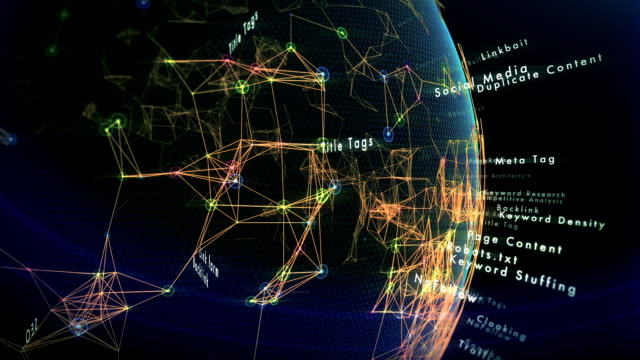 seo の世界 - 鎖の輪点の映像素材/bロール