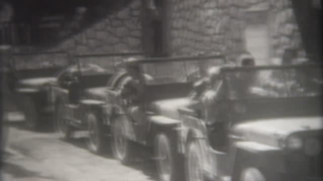 world war ii österreich 1945 - konflikt stock-videos und b-roll-filmmaterial
