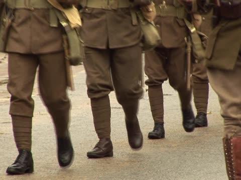 """vidéos et rushes de guerre mondiale """"une armée de soldats - première guerre mondiale"""