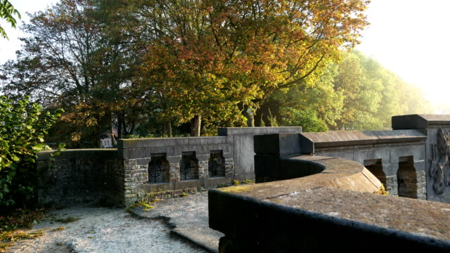 World war one in Belgium: Ypres today, ramparts surrounding the old city video