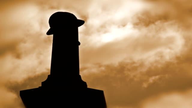 World war one landmarks  :  village monument time lapse video