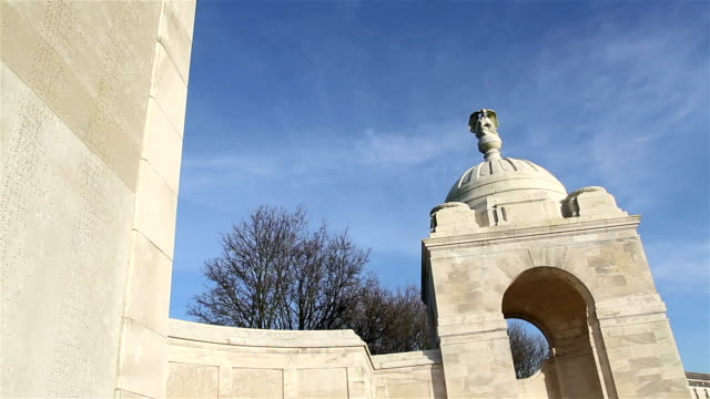 World war one places of remembrance  :  british military cemetery video