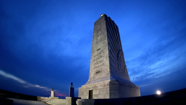 Wright Brothers National Monument at Dusk video