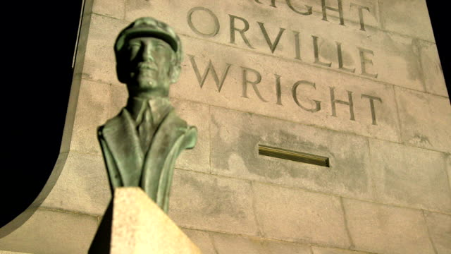 Wright Brothers National Monument Orville Rack Focus video