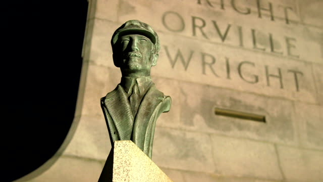 Wright Brothers National Monument Orville Slow Pan video