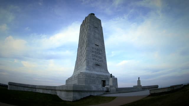 Wright Brothers National Monument Slow Pan video