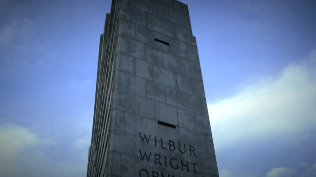 Wright Brothers National Monument Tilt Down video