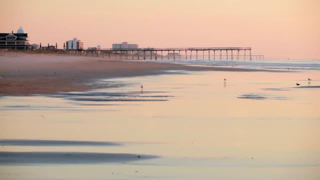 Wrightsville Beach morning on the North Carolina coast video