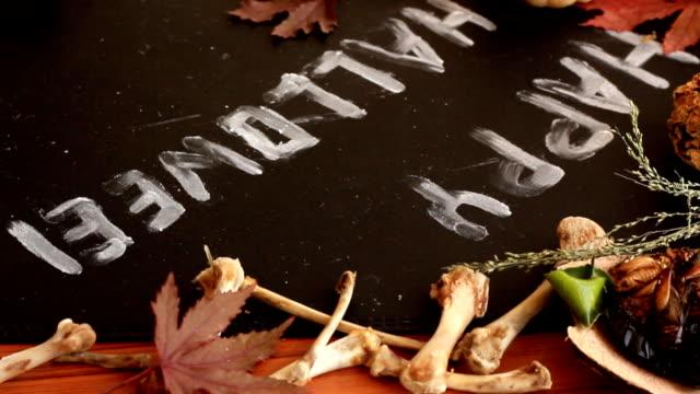 Write Halloween. Write in Halloween. scandal abc stock videos & royalty-free footage