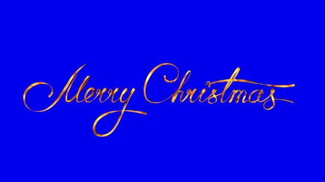 """skriva gyllene band text """"god jul"""" på blå bakgrund. - blue yellow band bildbanksvideor och videomaterial från bakom kulisserna"""