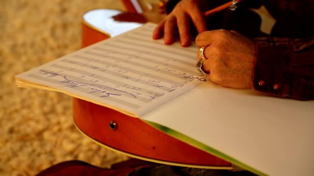 Writing sheet music video