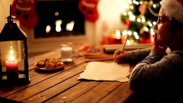 Writing to Santa Claus video