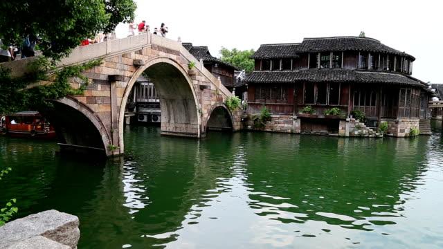 wuzhen  water town,