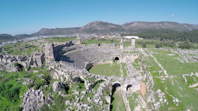 Xanthos-Aerial video video