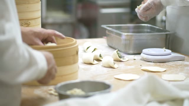 xiao long pao - chinese food stock videos and b-roll footage