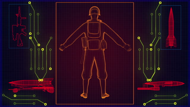 X-ray soldier video