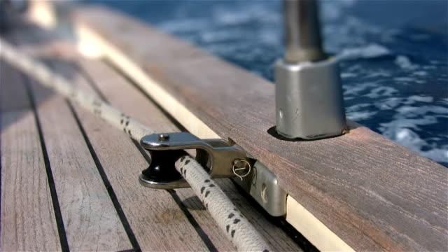 Yacht deck, Majorca, Spain video